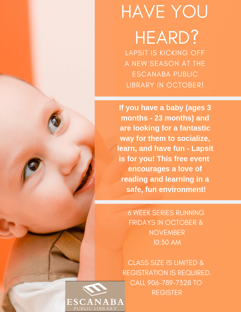 Baby Story Hour at Escanaba Library