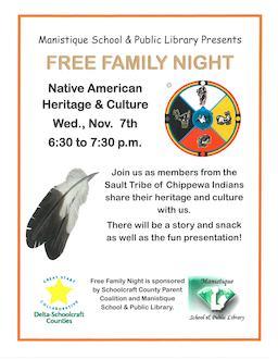 free family night native american heritage culture delta