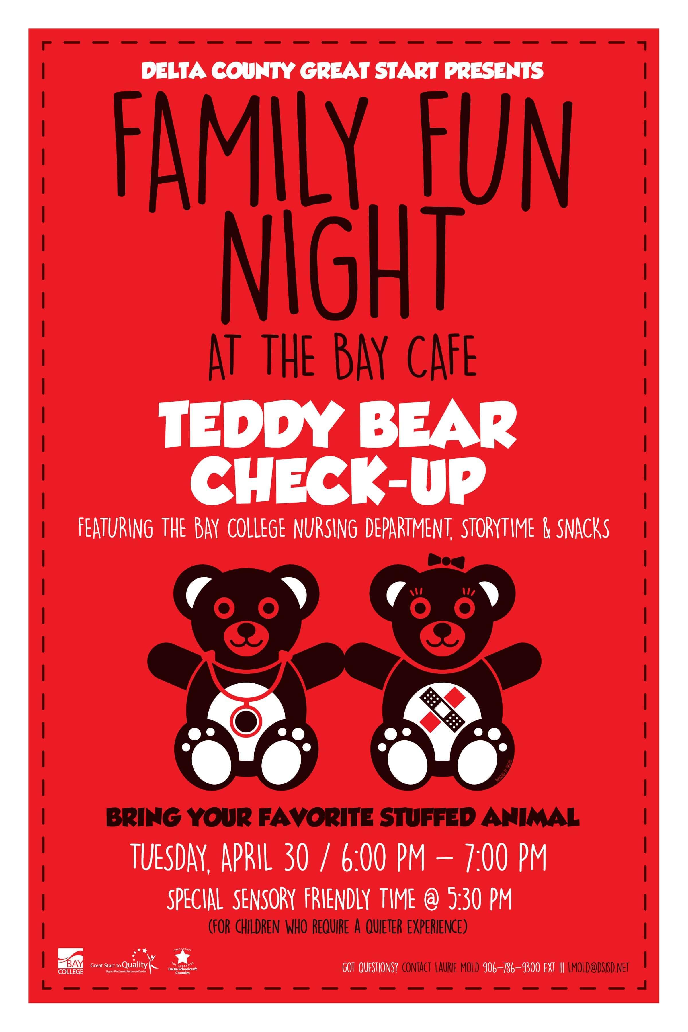 Great Start Teddy Bear Checkup 4-30-19