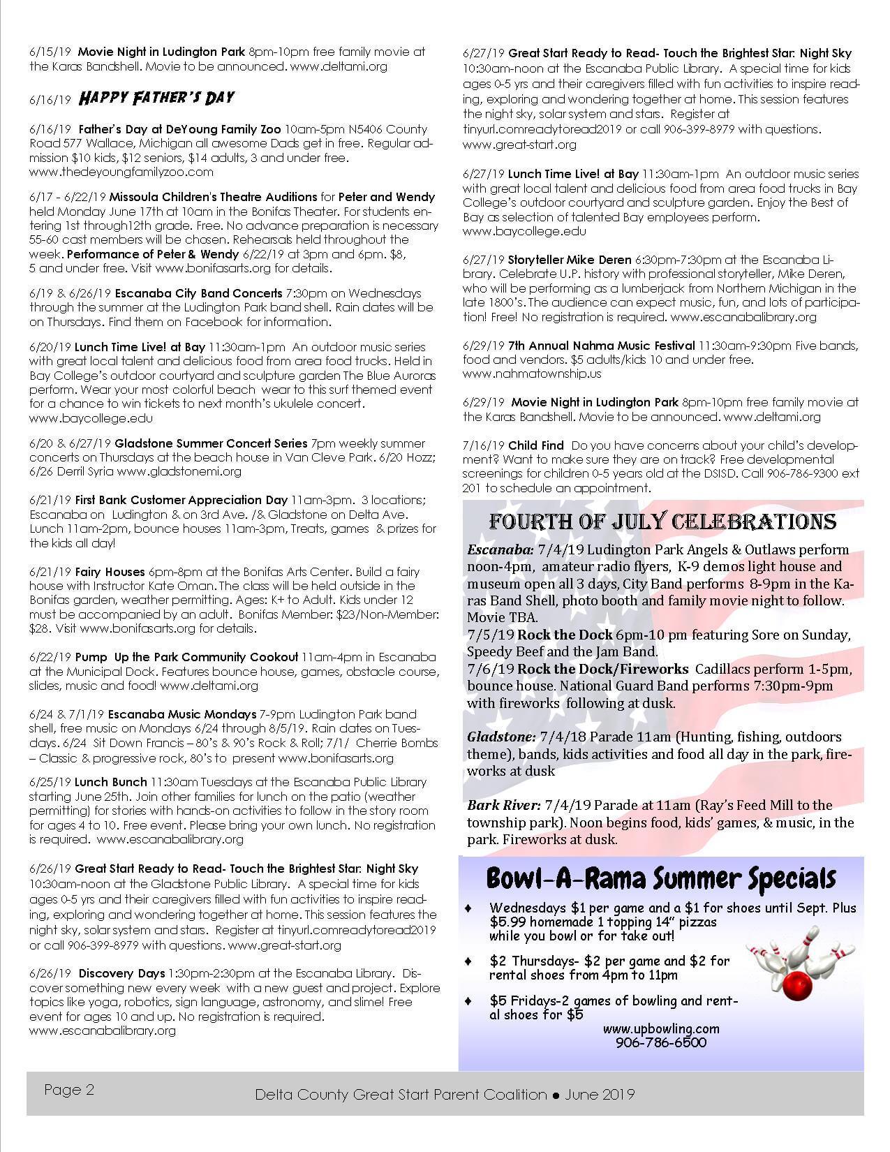 PG 2 June newsletter