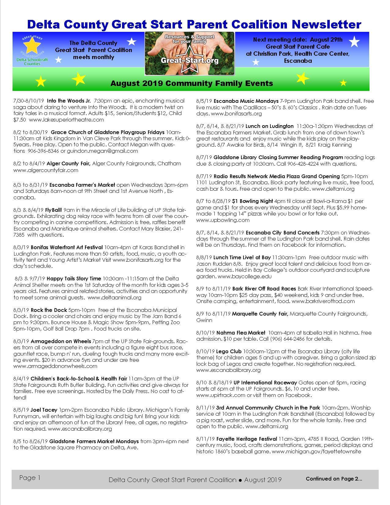 aug 2019 delta newsletter pg1
