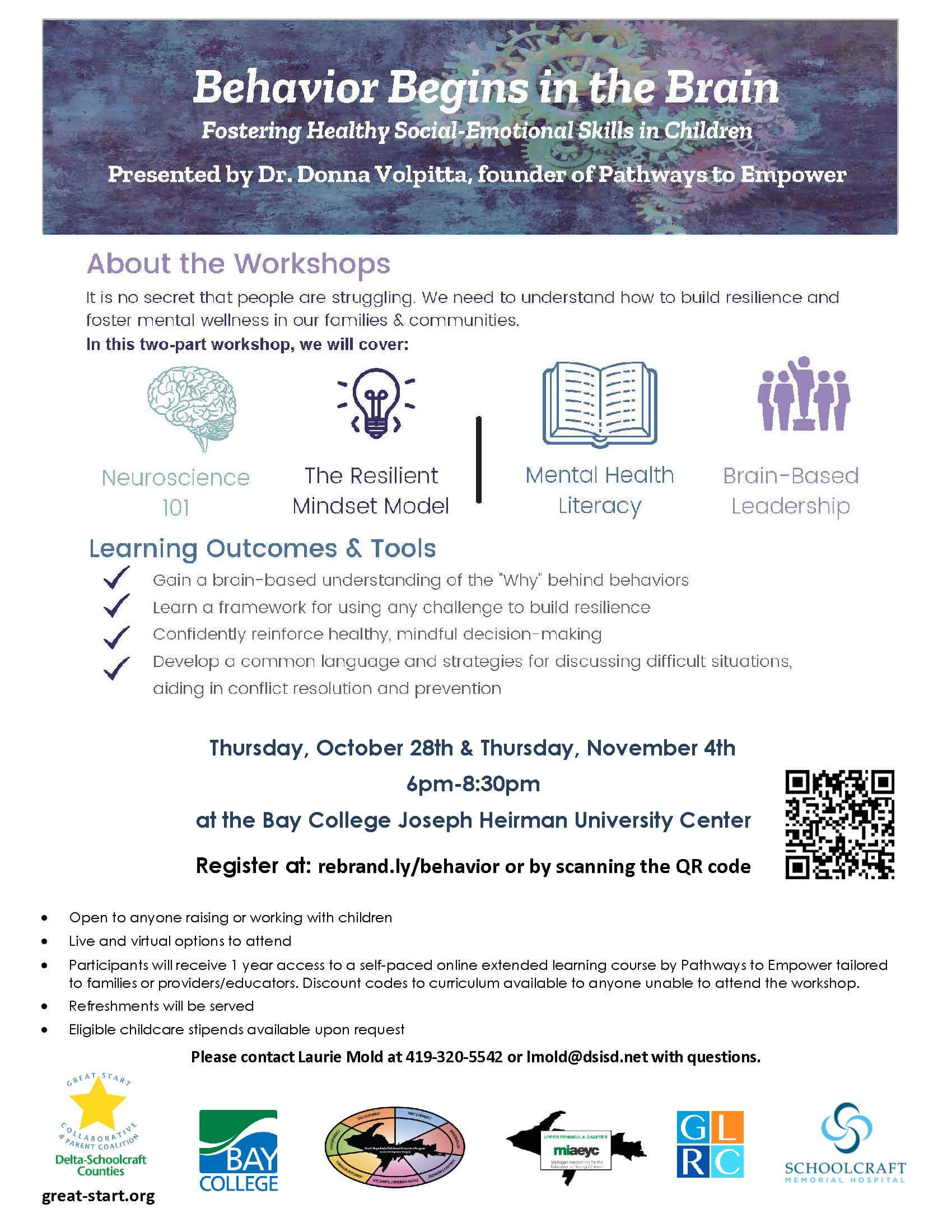 Brain and Behavior workshop